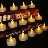 24 Pack Teelicht-Kerzen LED, batteriebetriebenes flammenloses Teelicht, das warmes Gelb flackert