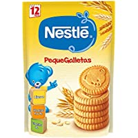 Nestlé Junior Alimento elaborado a base de cereales, galletas - 180 gr
