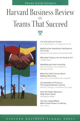 """Harvard Business Review on Teams That Succeed (""""Harvard Business Review"""" Paperback)"""