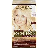 L'Oreal Paris Hair Color Excellence Age Perfect Layered-Tone Flattering Color Dye, Very Light Natural Blonde by L'Oreal Paris