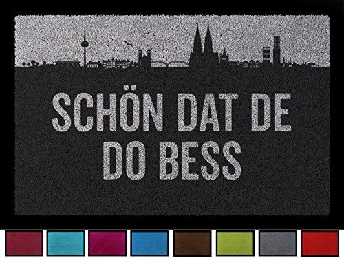 FUSSMATTE Geschenk SCHÖN DAT DE DO BESS Köln Geschenk Einzug