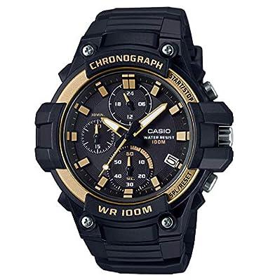CASIO Collection Reloj Analógico para Hombre de Cuarzo con Correa en Resina MCW-110H-9AVEF