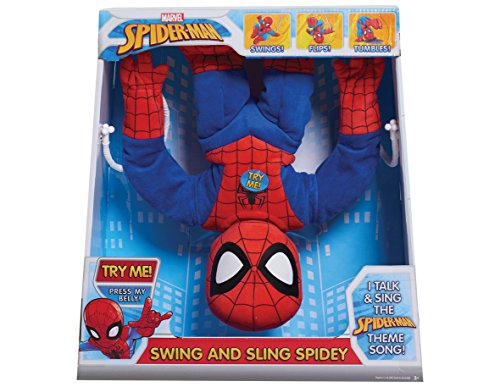 Spiderman Plush - Swing & Sling  - Marvel - 38cm 15""