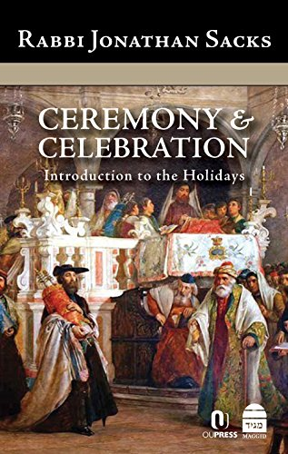 Ceremony & Celebration: Introduction to the Holidays por Jonathan Sacks