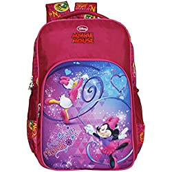 Disney School Bag For Boys & Girls 07+ Years Mickey Mouse Friendship Flows 13 (L) Red (Dm-0052)