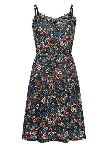 Vive Maria Jardin D'Été Dress Black Allover, Größe:L -
