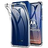 Yocktec Hülle für Motorola One Vision, Ultra-dünne Schutzhülle weiche TPU Gel-Abdeckung Handyhülle Silikon Case Cover [Kratzfest] [Stoßdämpfung] für Motorola One Vision 2019 Smartphone[ Transparent ]