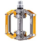 In-Mold Aluminum CNC bearing bicycle pedals for Road...