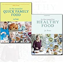 Jo Pratt Collection In the Mood for Quick Family Food and Healthy Food [Hardcover] 2 Books Bundle Collection - Simple, Fast and Delicious Recipes for Every Family, Recipes for The Whole Family