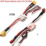 Generic T : Activity 2017 Hot Sale APM Power Module 30V 90A With 5.3V DC BEC Available With T Or XT60 For RC Helicopter Part