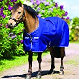 Horseware Amigo Hero 6 Turnout PONY light 0g - Atlantic Blue/Atlantic Blue&Ivory - Weidedecke, Groesse:110