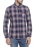 Jack & Jones Men's Casual Shirt (5713610879915_12125967Dark Blue Denim_Small)