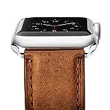 Apple Watch Armband 42mm , Benuo iWatch Echtes Leder Ersatz Uhrenarmband iWatch Uhrenband mit...