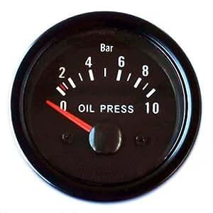 /Öltemperaturanzeige Retro 52mm Oldschool
