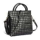 96cf29627dc47 2 · Vismiintrend Premium PU leather Women Ladies Sling Shoulder Top handle  Satchel Handbag Quilted