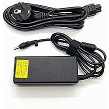 65w Adaptador Cargador Nuevo Compatible con Portátiles HP Compaq Presario - Pavilion Series con Punta fina de 4,8mm x 1,7mm 18,5v 3,5a