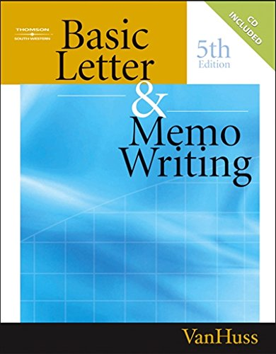 e-Books Online Libraries Free Books Basic Letter and Memo Writing (Title 1) ePub