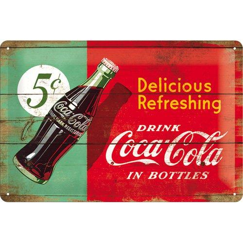 nostalgic-art-22229-plaque-retro-en-tole-motif-coca-cola-avec-inscription-delicious-refreshing-vert-