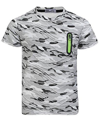 LotMart Kids Camo Dot Print Short Sleeve T-Shirt Army Soldier Combat Military
