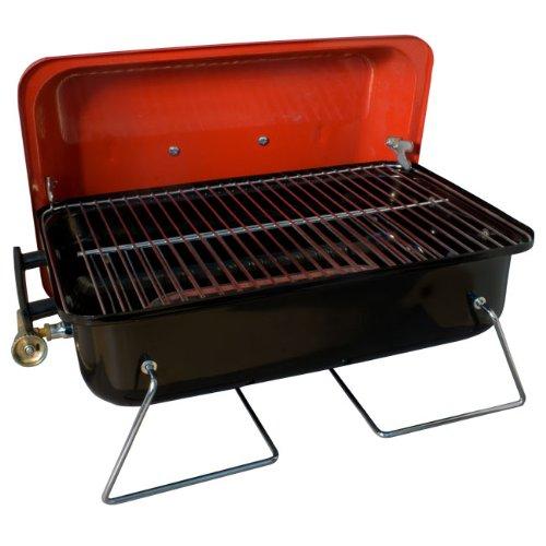 Barbecue de table à gaz avec pierres de lave