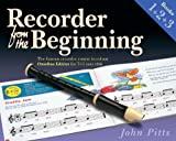 By John Pitts - Recorder from the Beginning: Books 1 + 2 + 3 (Reprint)