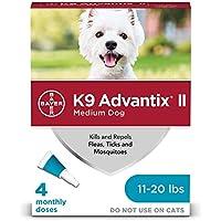 K9 Advantix Ii Teal 1ml 11-20lb 4pk