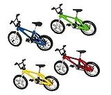 UChic 5 STÜCKE Finger Legierung Fahrrad Modell Mini MTB Finger Fahrrad BMX Fixie Bike Jungen Spielzeug Kreative Spiel Geschenk Farbe Zufällig