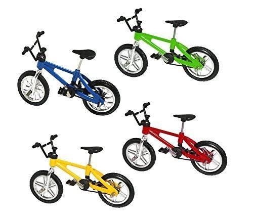 UChic 5 STÜCKE Finger Legierung Fahrrad Modell Mini MTB BMX Fixie Bike Jungen Spielzeug Kreative Spiel Geschenk Farbe Zufällig 3d Fire Truck Spielzeug