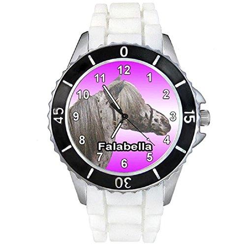cheval-falabella-montre-unisex-bracelet-silicone-blanc