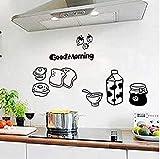 Liroyal Stickers muraux Art de la cuisine, Art de décalcomanies murales appliques, Styles multiples, Commentaires humoristiques dr?les, Stickers Liroyal muraux Home Decor