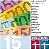 test und Finanztest Archiv CD-Rom 2015, CD-ROM Alle Hefte 2015 auf CD-ROM. für PC, Mac und Linux
