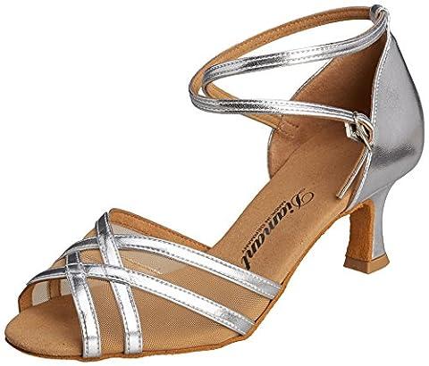 Diamant Diamant Damen Latein Tanzschuhe, Chaussures de Danse de salon