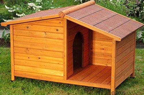 Caseta perro madera Resistente atractiva caseta madera