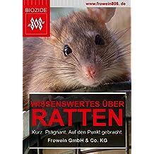 Wissenswertes über Ratten: Kurz. Prägnant. Auf den Punkt gebracht. (Hygiene Management Ratgeber) (German Edition)