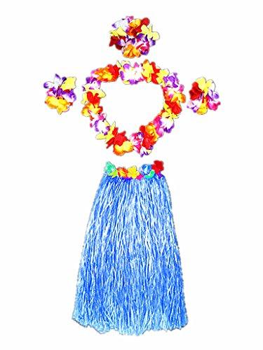 Hawaiian Kostüm Für Erwachsene - Alimitopia Erwachsene Elastic Hawaiian Hula Tänzerin