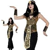 Monster Kleopatra Kostüm Größe M Damen Pharaonin Karneval 50128
