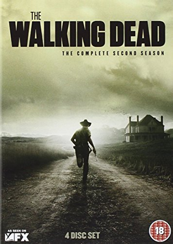 The Walking Dead - Die komplette zweite Staffel [4 DVDs] [UK Import] - Box-sets Dead Dvds Walking