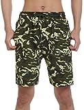 ADOME Men Camouflage Shorts Pants Summer Beachwear Watershorts
