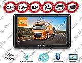 GPS Poids Lourds Camion ET Bus 7 Pouces Europe Gratuite A Vie