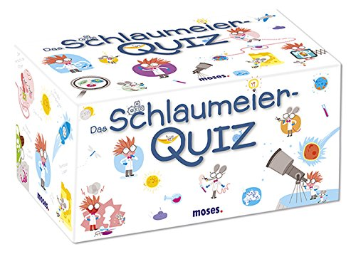 moses. 90208 Das Schlaumeier-Quiz | Kinderquiz | Für Kinder ab 8 Jahren
