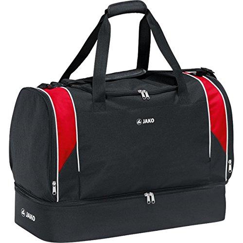 Jako Unisex Sporttasche Attack 2,0, schwarz/rot, 50 x 38 x 40 cm, 90.3 Liter, 2072-01