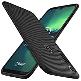 iBetter per Moto G8 plus Cover, Ultra Sottile di gomma, Custodia Protettiva Antiurto,per la Motorola Moto G8 plus Smartphone.(Nero)