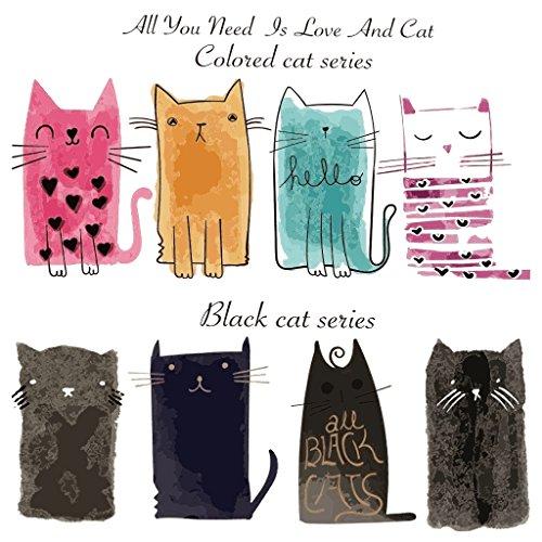 Hergon - Parches para gatos para ropa de niños