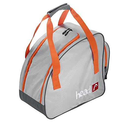 HEAD Freeride Boot Bag Ski-Rucksack, 40 cm, 42 L, Grau/Orange (Boot Ski Tasche-rucksack)