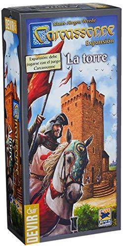 Comprar juego de mesa: Devir - Carcassonne: La Torre, juego de mesa (BGCARTO)