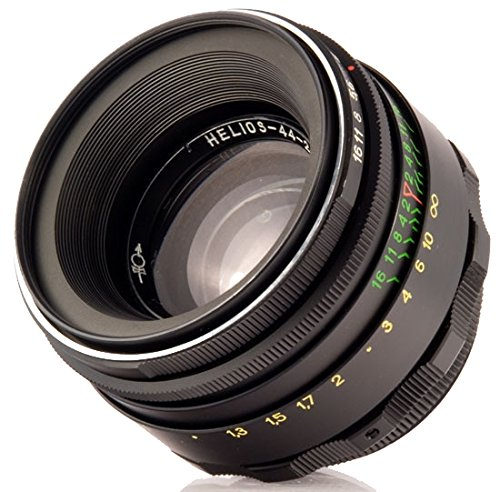 Helios 44-2 58mm F2 Objectif Sovietique pour Micro 4/3 Panasonic, Olympus