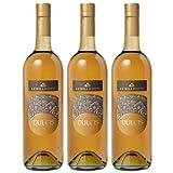 3x Lungarotti Vino Liquoroso 'Dulcis' italienischer Likörwein, Dessertwein, 750 ml