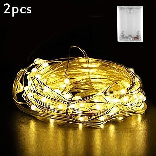 te Batterie, Nasharia 30 LED 3m Micro LED Lichterketten für Hochzeit, Party, Weihnachten, Außen/Innen Dekoration, IP65 Wasserdich ()