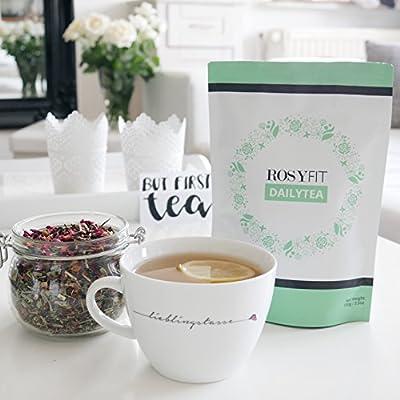 Rosyfit DailyTea - täglicher Energiekick - erfrischend leckerer Geschmack - 90 Tage Geld Zurück Garantie von Nuthrive GmbH auf Gewürze Shop