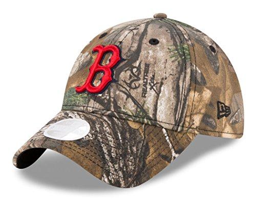 boston-red-sox-new-era-womens-mlb-9twenty-realtree-camo-adjustable-hat-chapeau